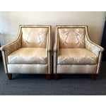Image of Bernhardt Upholstered Chairs - Pair
