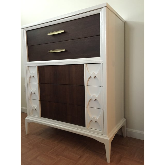 Reworked Mid Century Modern Tall Dresser - Image 3 of 6