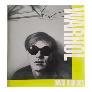 """Warhol"" 1st Edition Vintage 1989 Collector's Art Book"