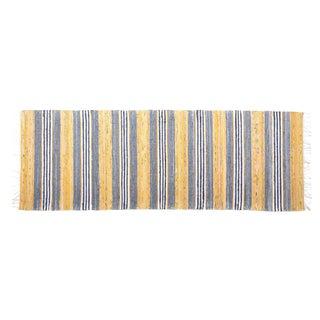 Scandinavian Handwoven Rug - 2′5″ × 7′2″