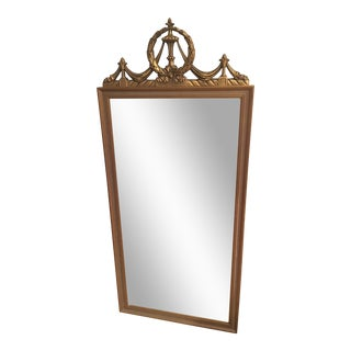Vintage Gold Gilded Wall Mirror