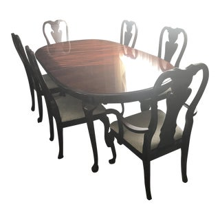 Thomasville Queen Anne Dining Room Set