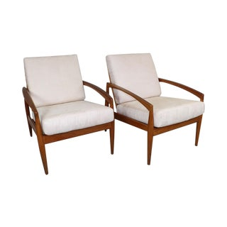Kai Kristiansen Mid-Century Teak Side Chair - Pair