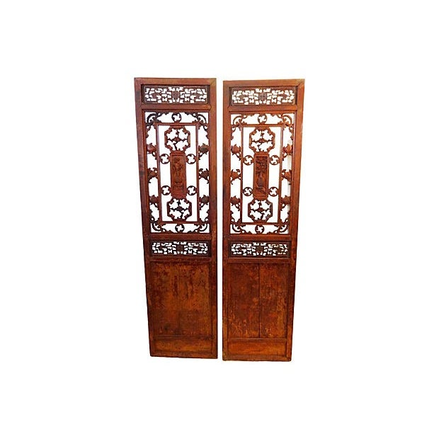 Antique Chinese Doors - A Pair - Image 8 of 8