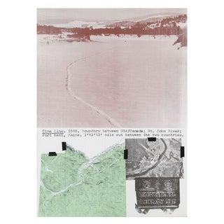 Dennis Oppenheim -Time Line Kent Maine Lithograph