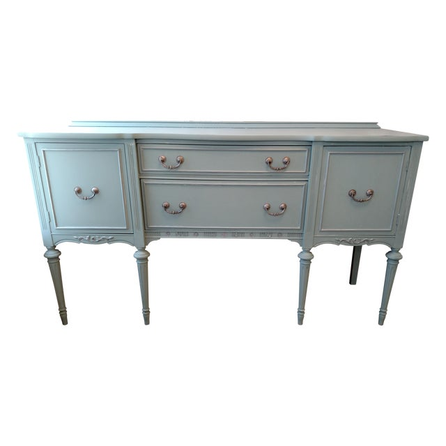 Refinished Vintage French Provincial Buffet - Image 1 of 6