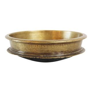Vintage Indian Bronze Urli Bowl