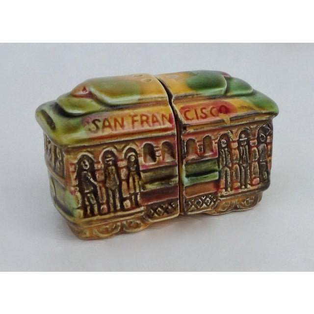 Vintage San Fransisco Cable Car Salt & Pepper Shakers - Image 5 of 11
