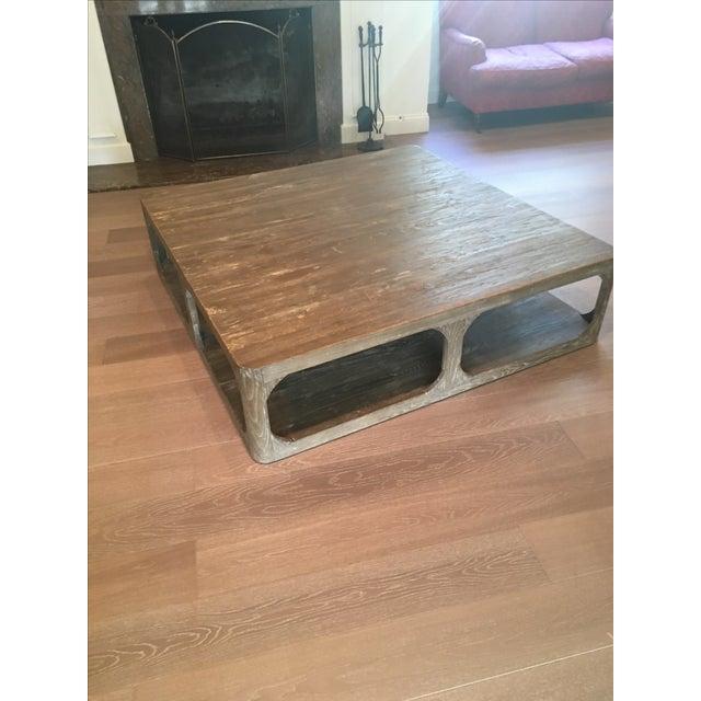 Restoration Hardware Coffee Table - Image 2 of 6