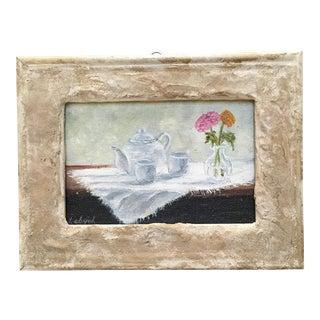 """""""Tea Time"""" Oil on Canvas"""