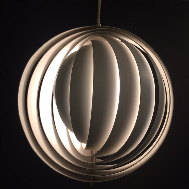 Verner Panton Moon Pendants- A Pair - Image 3 of 7