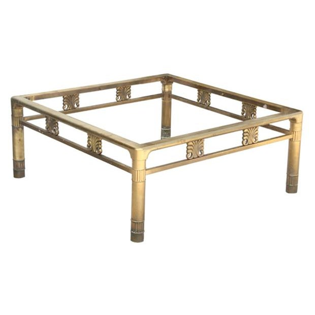 40 Metal Square Coffee Tables: Square Brass Coffee Table Base