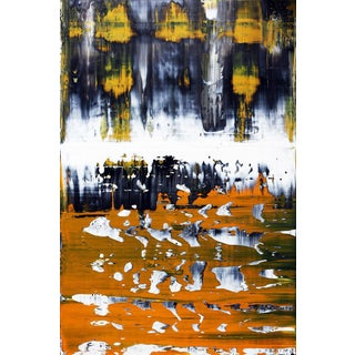 "Jose M. Clark ""Skortha"" Original Abstract Painting"