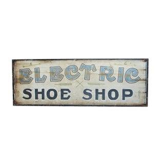 Electric Shoe Shop Sign