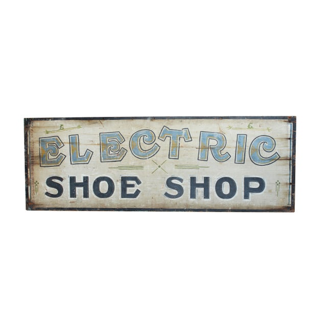 Electric Shoe Shop Sign - Image 1 of 2