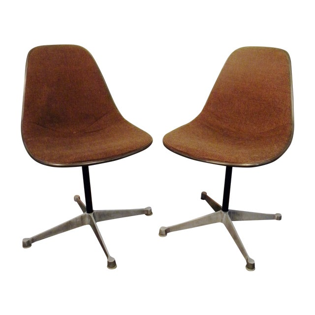 Vintage Mid-Century Herman Miller Chairs - A Pair - Image 1 of 9