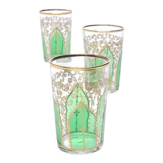 Tamansour Green Tea Glasses - Set of 6