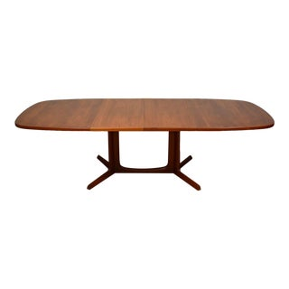 Danish Teak Dining Table & 2 Leaves