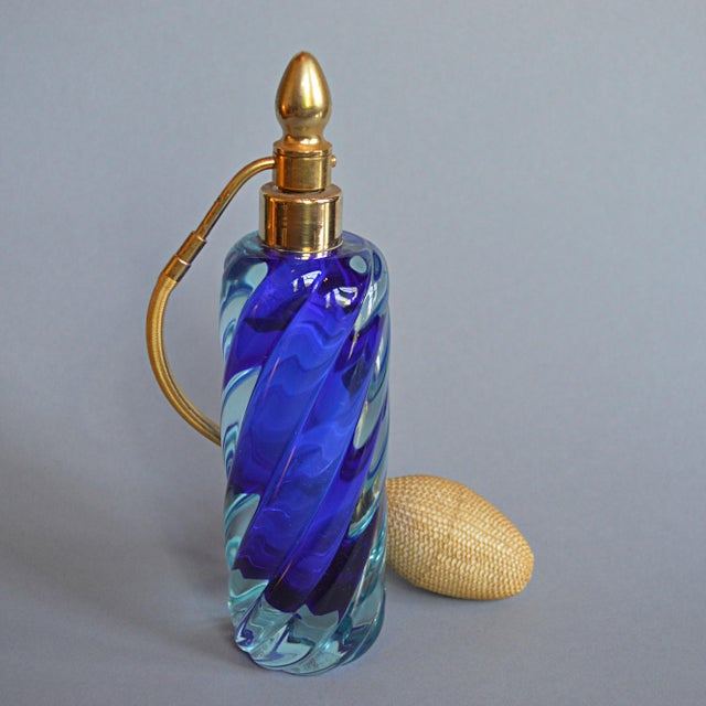 Image of Murano Blown Glass Perfume Atomizer