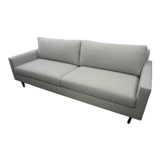 Upholstered Custom Gray Sofa