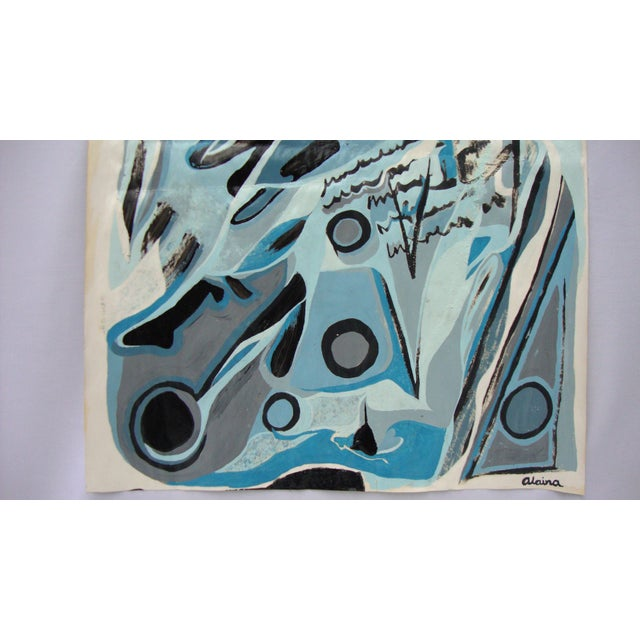 'Blue Lady' Ltd Ed Print of Painting by Alaina - Image 3 of 4