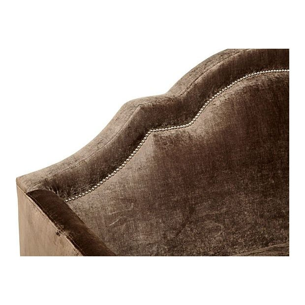 Image of Demilune High Back Hawthorne Sofa