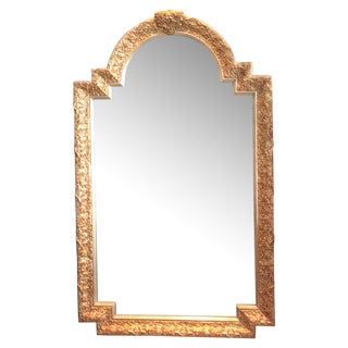 Carvers Guild White Pearl and Gold Mirror