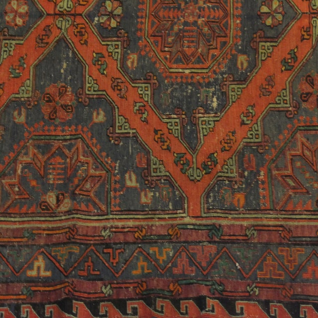 Antique Soumak Kilim - 6' x 9' - Image 4 of 4