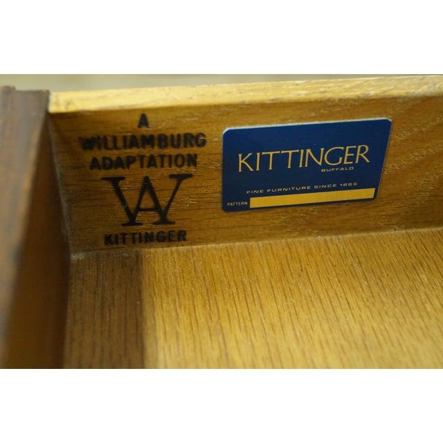 Image of Kittinger Colonial Williamsburg Mahogany Chest