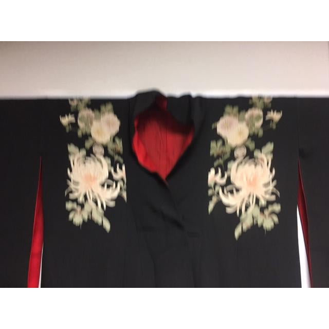 1940's Silk Screened Adult Kimono - Image 7 of 11