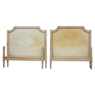1940's Louis XVI-style Twin Beds - A Pair