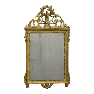 Gustavian Mirror with Chinoiserie Influences (#51-27)