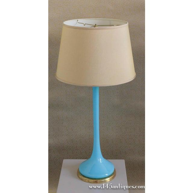 Image of Mid Century Venetian Glass Lamp