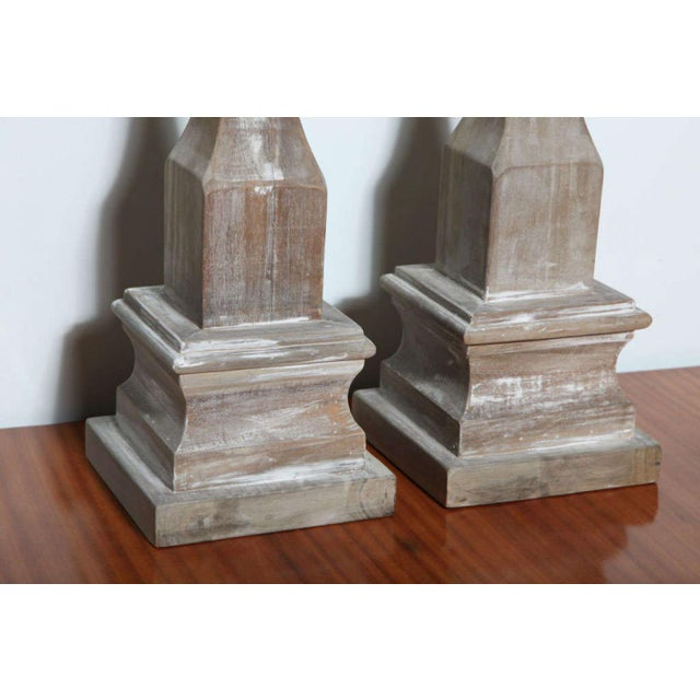 Pair of Wood Architectural Elements - Image 4 of 9