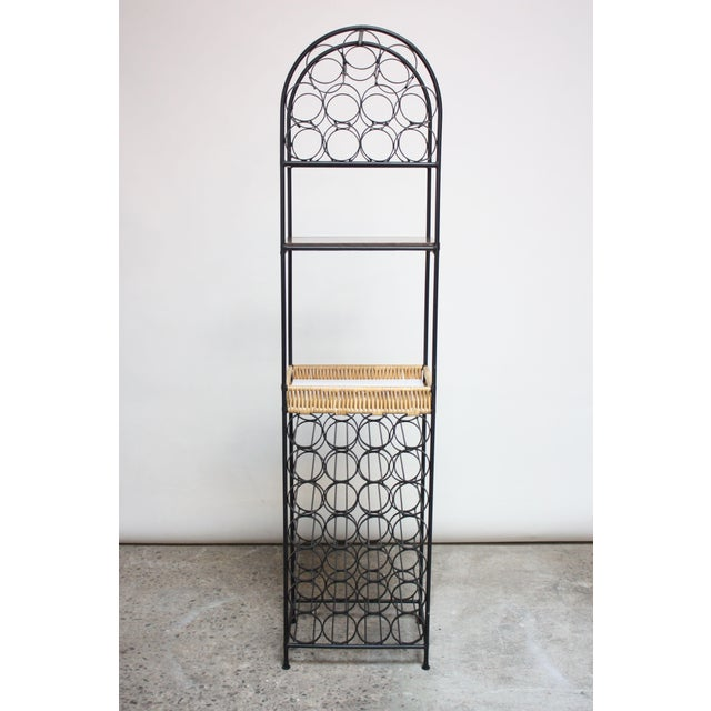 Iron Wine Rack by Arthur Umanoff for Shaver Howard - Image 2 of 11