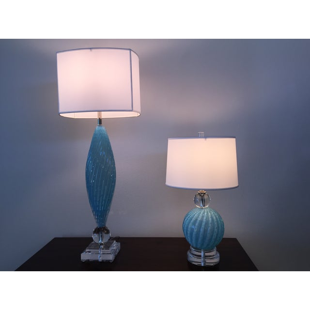 Murano Glass Table Lamps - Image 3 of 10