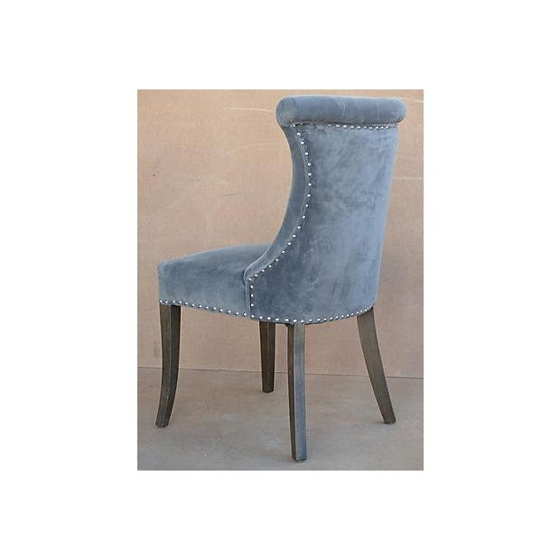 tufted ultra suede dining chairs set of 6 chairish