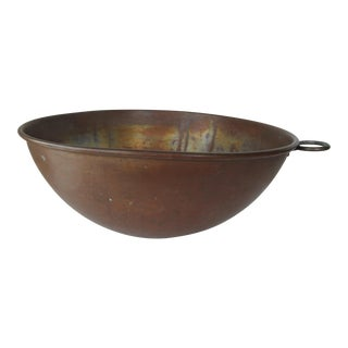 Italian Copper Mixing Bowl