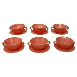Moderntone Soup Bowls & Plates - Set of 12