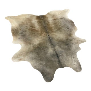 Salt & Pepper Cowhide Rug - 6′3″ × 6′6″