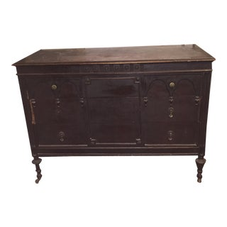 1920s Vintage Sligh Furniture Company Buffet