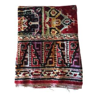 "Vintage Persian Textile Rug - 3'10"" x 5'8"""