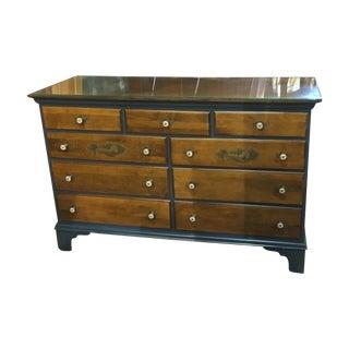 Vintage Hitchcock Blue Bedroom Dresser