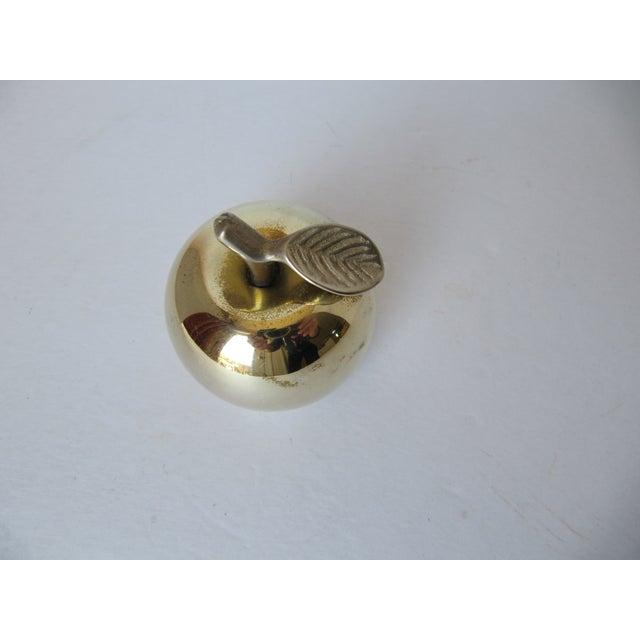 Vintage Brass Apple Bell - Image 4 of 6