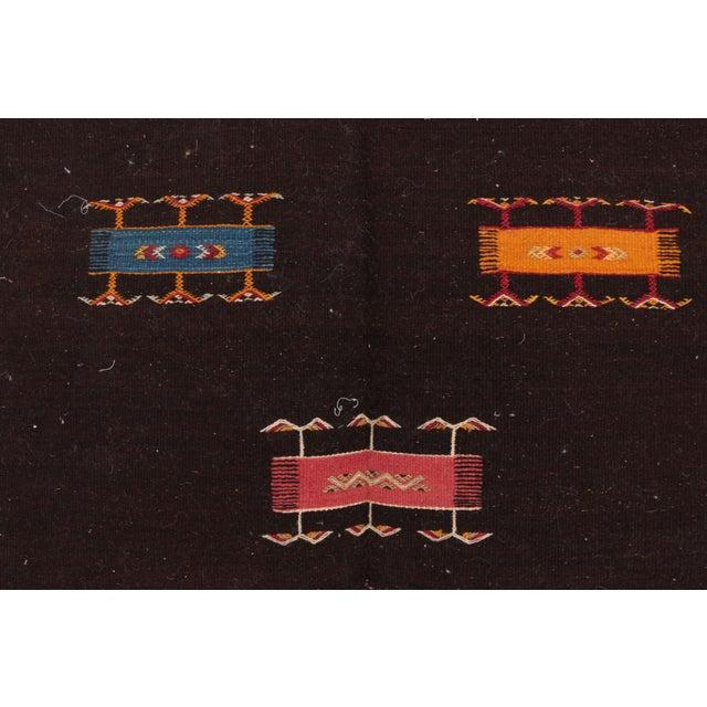 "Aknif Moroccan Rug - 3'3"" x 3'6"" - Image 2 of 4"