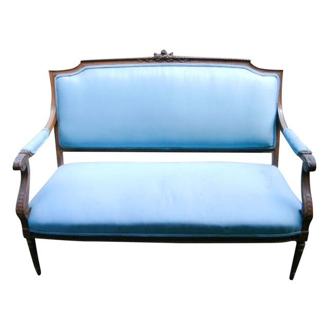 Image of French Mid Century Settee, Part of a Set