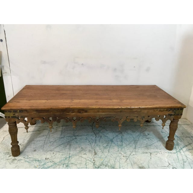 19th c morrocan style coffee table chairish for Table th width