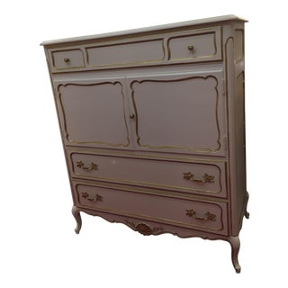 Shabby Chic French HighBoy Dresser