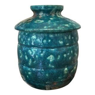 Amy Parker Lidded Pottery Vase