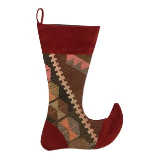 Large Kilim Christmas Stocking | Celebrate